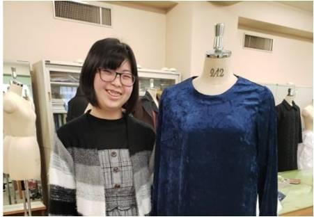 【在学生紹介】<ファッション・造形コース>