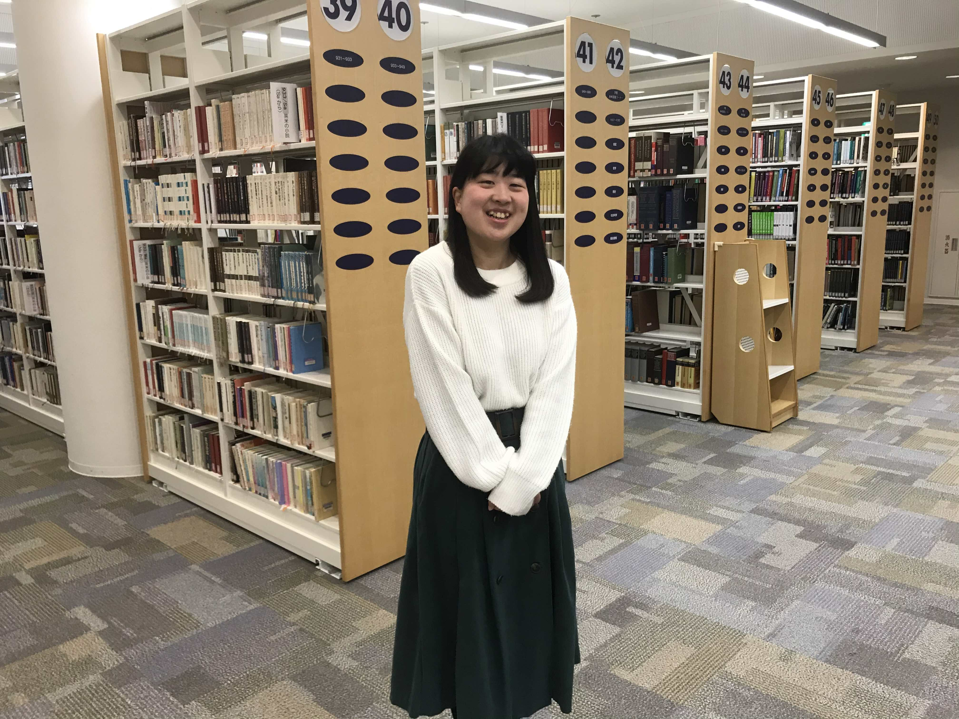 【卒業生インタビュー】2019年度 図書館司書ブランチ卒業 Sさん
