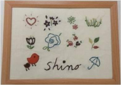 【コラム】秋の花と刺繍のオンライン授業