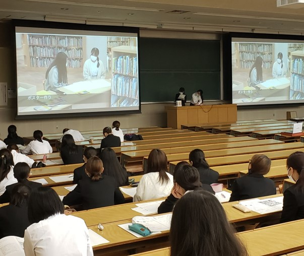【授業紹介】「社会貢献の理論と実践」 中間報告会を行いました