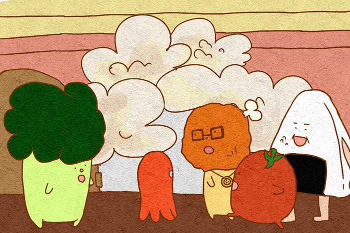 卒業研究 デジタルアニメーション「たこさん」