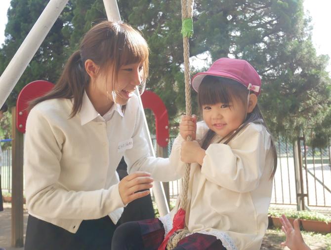 1年生が附属幼稚園見学実習②