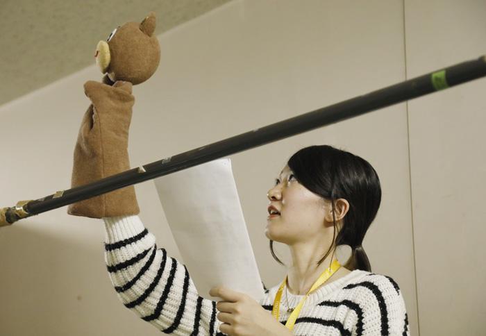 人形劇から学ぶ事④「人形劇練習」