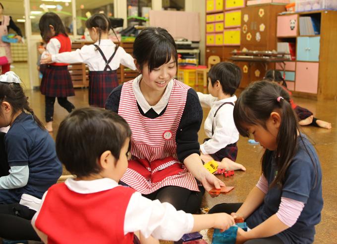 8月3日(土)保育士・幼稚園教諭を目指す高校生集まれ! 附属幼稚園体験!