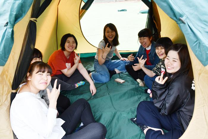 野外活動論① テントの張り方