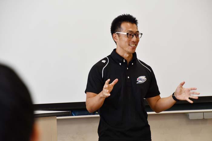 体育学概論 聖徳大学にオリンピック選手来る!