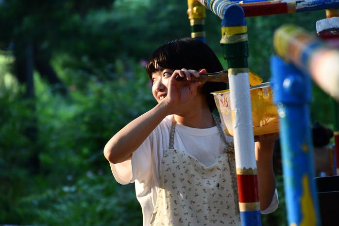 松戸中央公園カラフルプロジェクト① 大成ゼミ&西園ゼミ