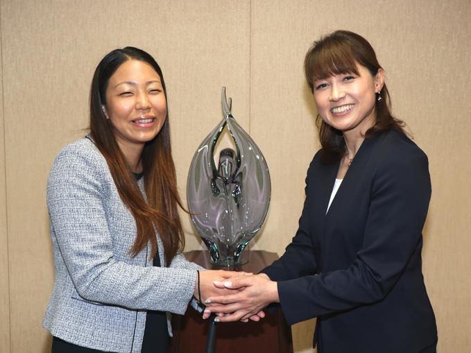 メダリストから学ぶ 客員教授に岡崎朋美先生・高田千明先生が就任
