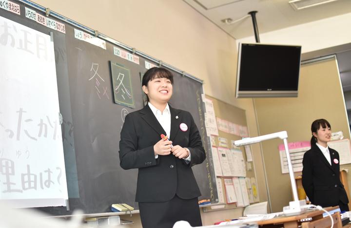 1年生の附属小学校観察実習事後指導①を実施!