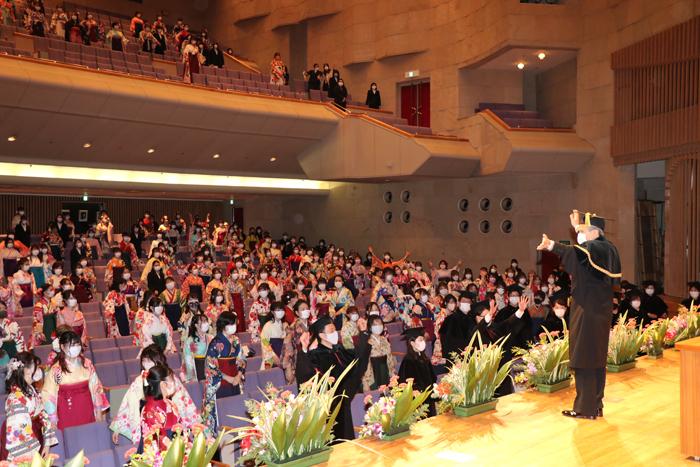 ご卒業おめでとうございます!コロナ禍の卒業式