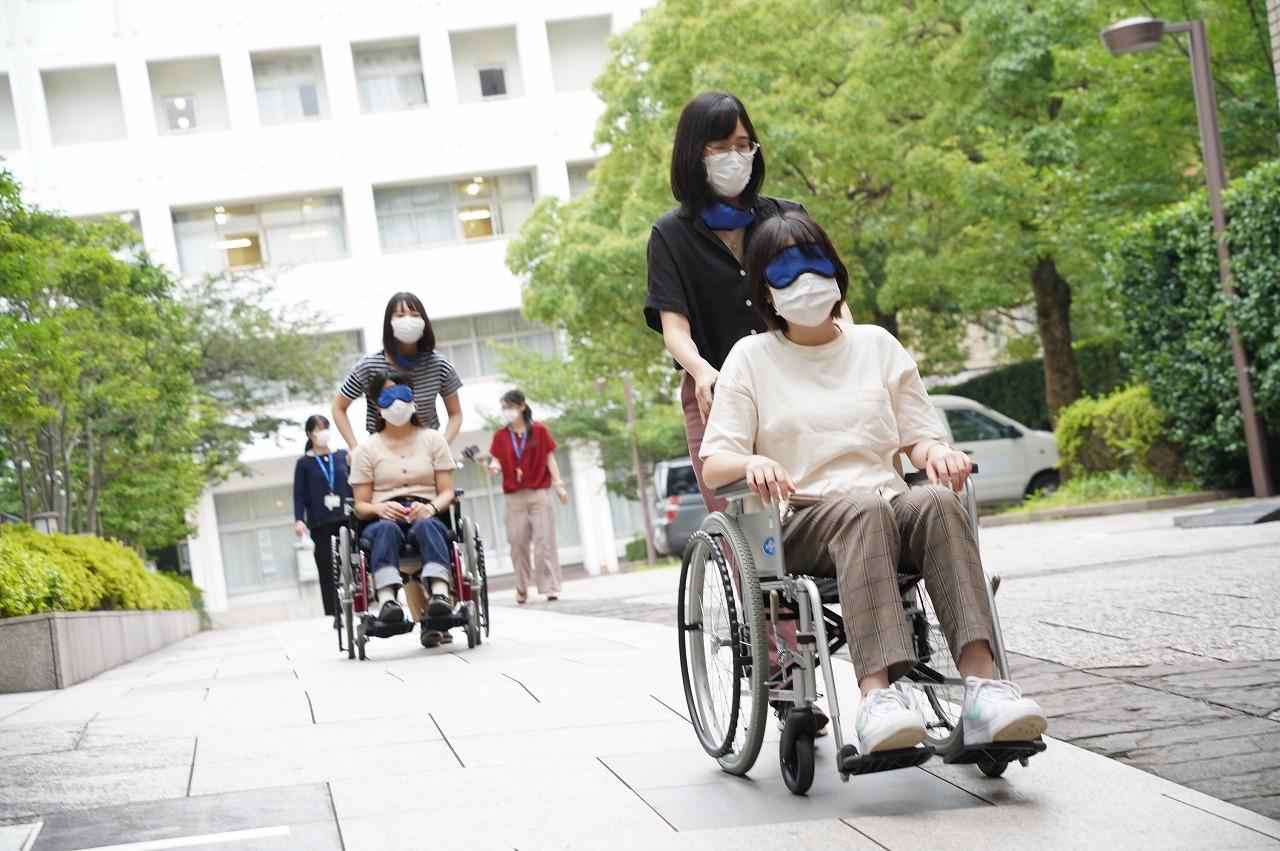 車椅子体験 特別支援学校実習事前指導
