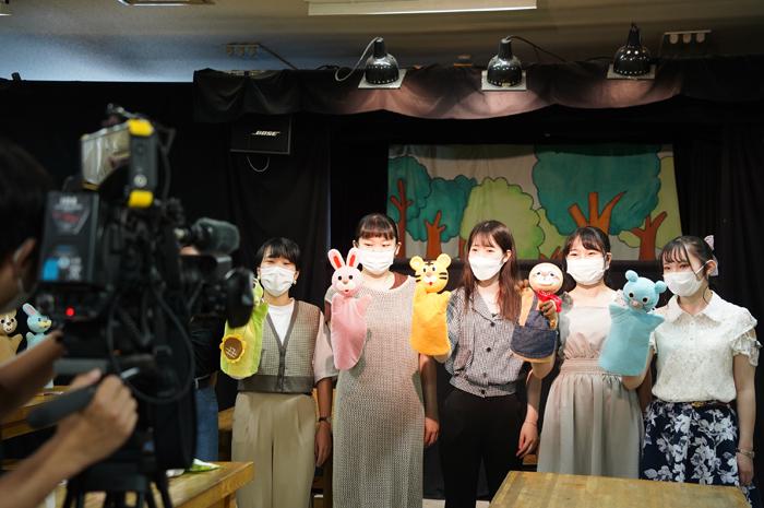 9月16日(木)チバテレ「モーニングこんぱす」で児童学科が紹介されます