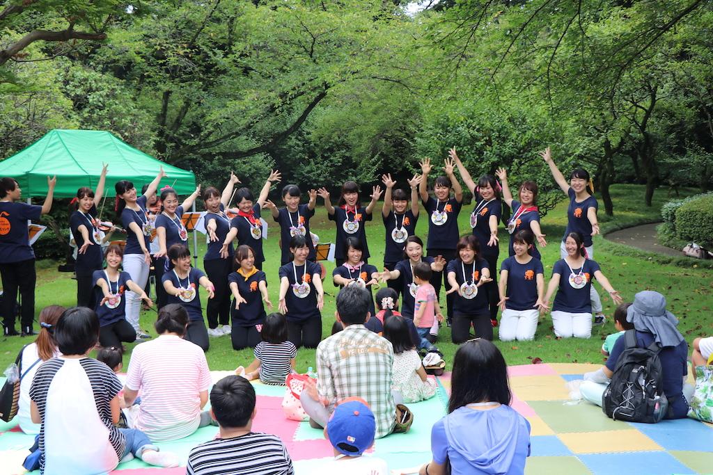 国の名勝「戸定邸」にて親子コンサートをしました!