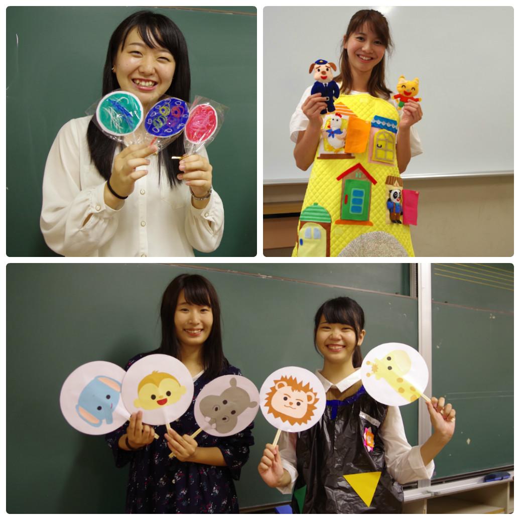 保育所実習での学生の製作教材を紹介します!