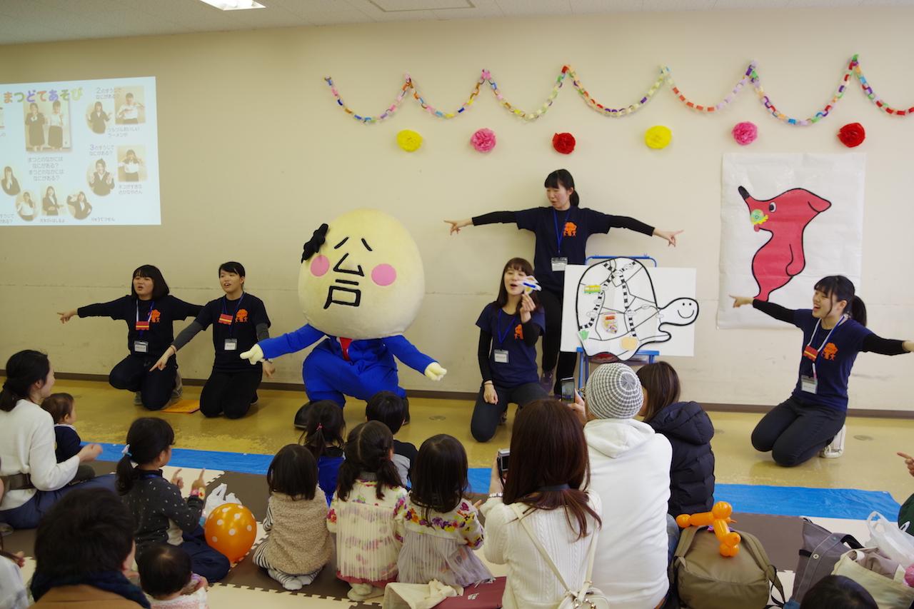 松戸子育てフェスティバルで学生が大活躍!!