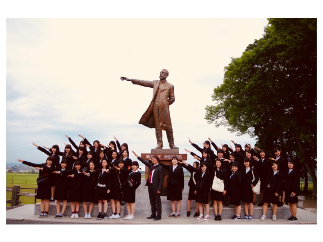 ホイクカ女子 北海道の大地に立つ!1日目