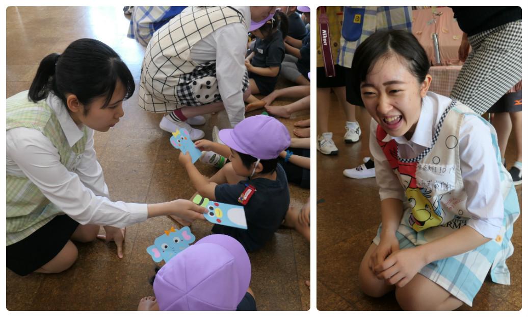 附属幼稚園見学に行きました!