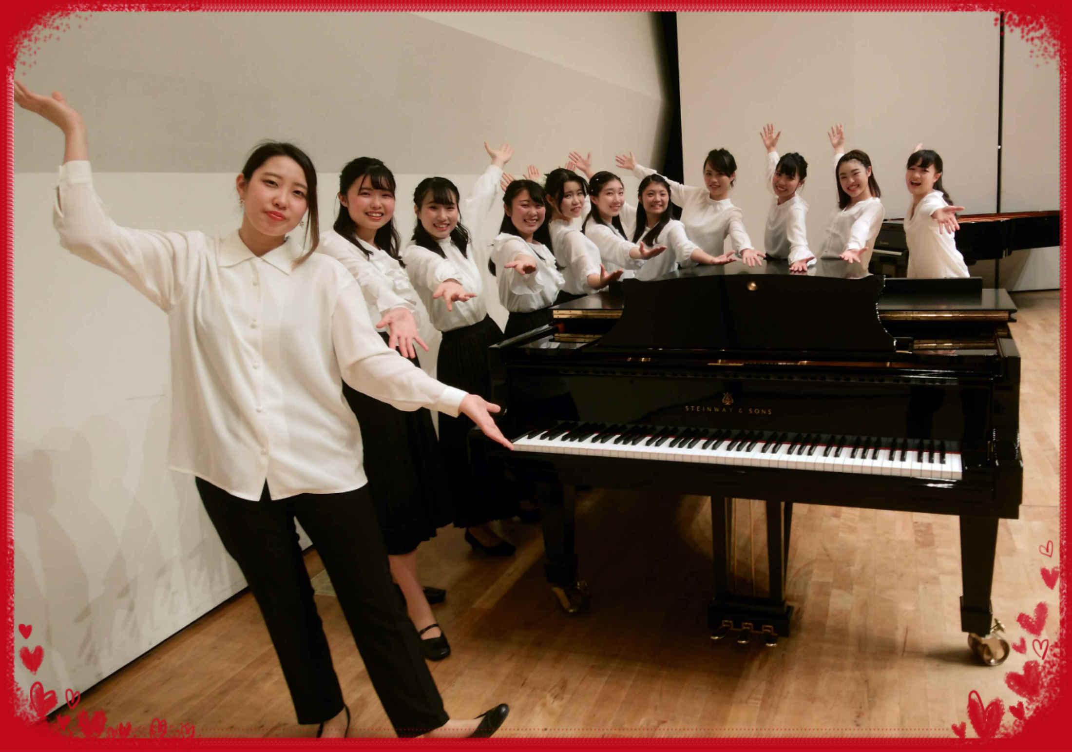 大ホールに満ち溢れたピアノの音色!