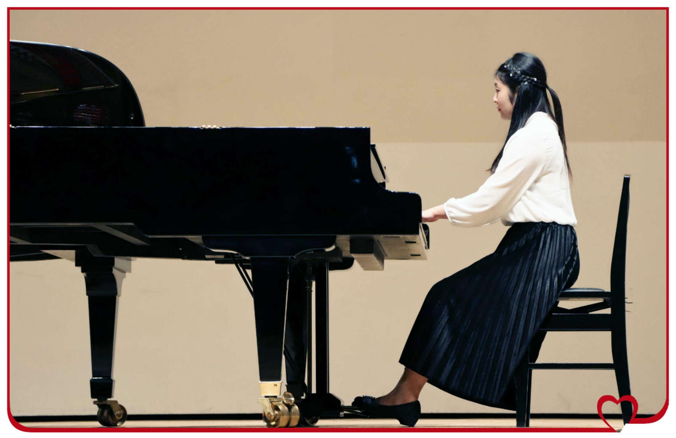 大ホールに満ち溢れたピアノの音色!続編