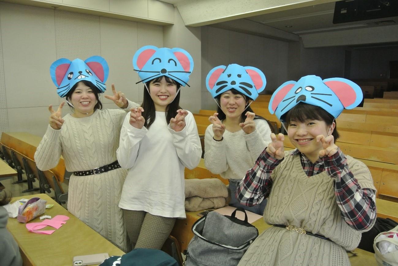 授業紹介【児童文化Ⅱ~2】折り紙あそびから育まれる保育者の心②