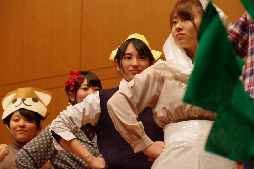 授業紹介【児童文化Ⅱ~2】折り紙あそびから育まれる保育者の心③