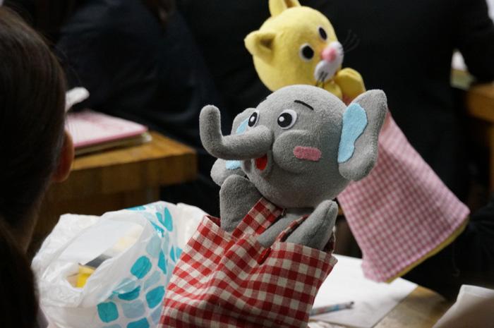 人形劇から学ぶ事③「人形制作」