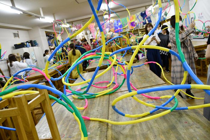 『造形遊び』を指導できる先生に! 「千葉県民の日 大学授業ミニ体験」報告