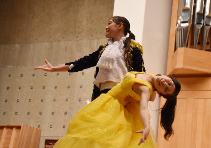 創作ダンス「美女と野獣」 夏期保育大学で卒業生が再演決定③ 練習編
