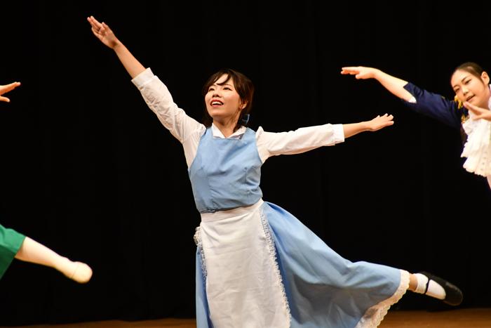 創作ダンス「美女と野獣」 夏期保育大学で卒業生が再演④ 本番編