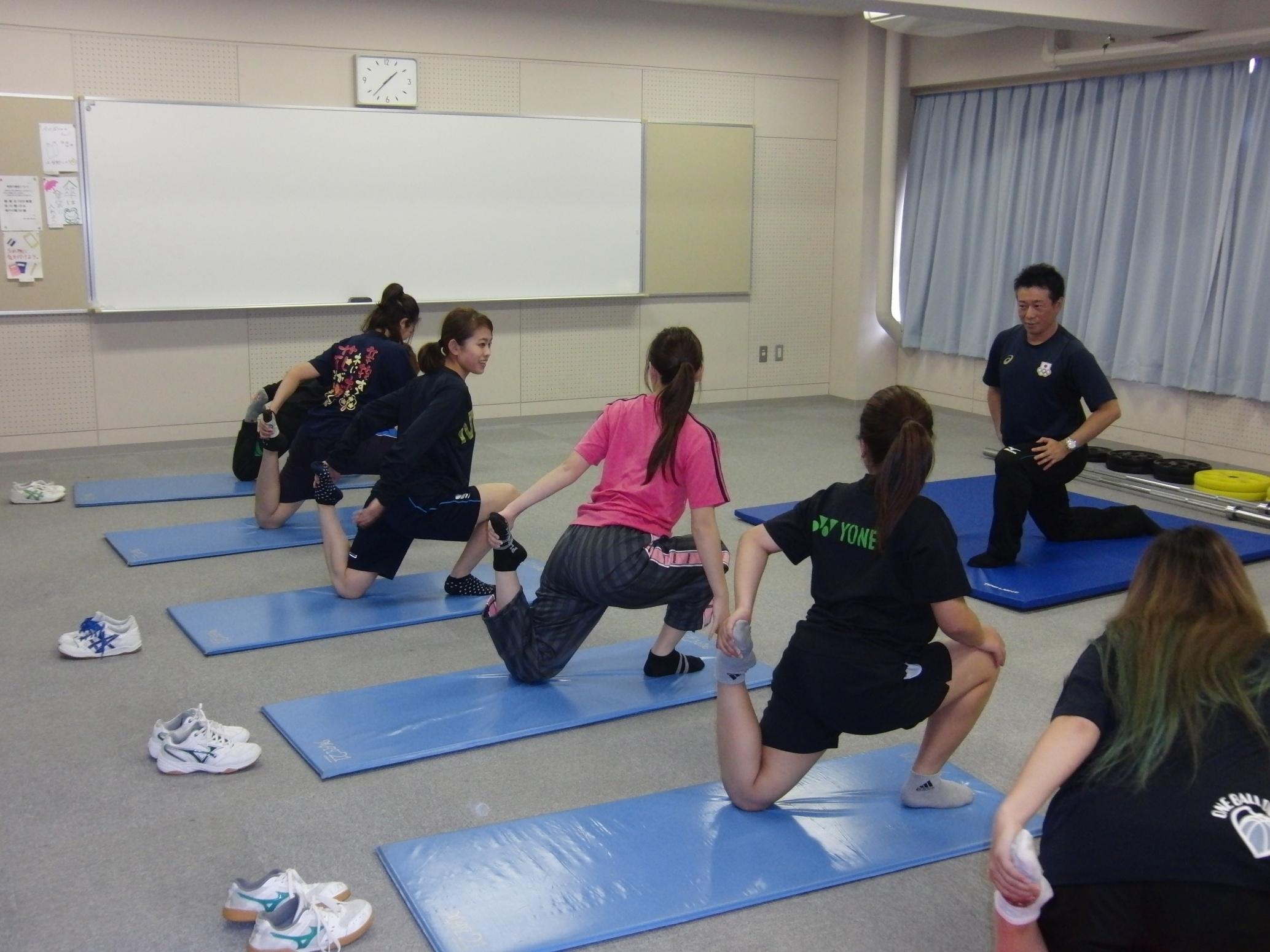 スポーツ健康コース 竹内洋輔先生の「スポーツトレーニング」