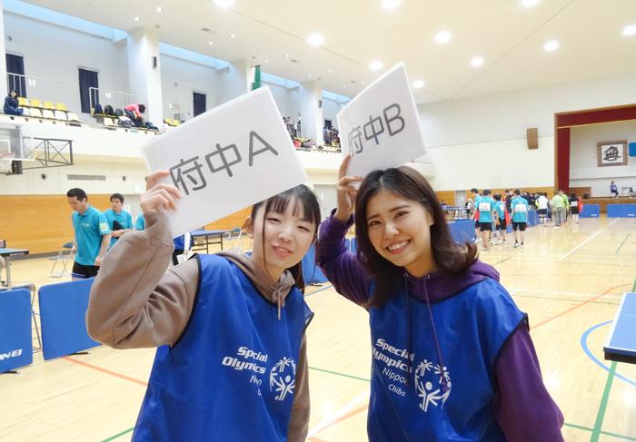スペシャルオリンピックス千葉地区大会のボランティアに参加しました!