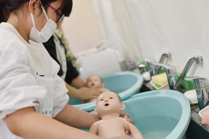 赤ちゃんのお風呂 沐浴 「子どもの保健Ⅲ」