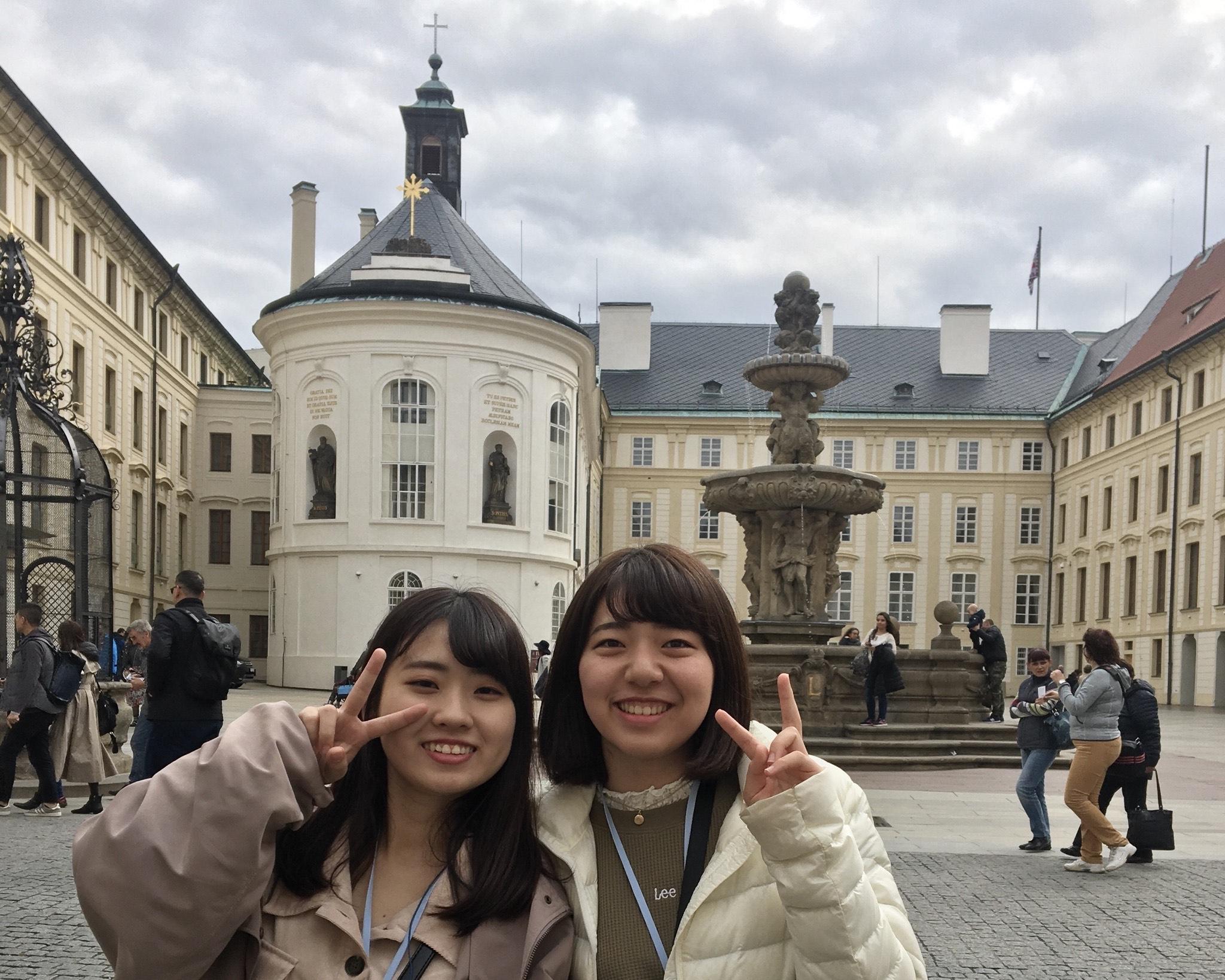 海外研修!幼保コース②~チェコの街なみの美しさと日本とちょっと似た幼稚園~