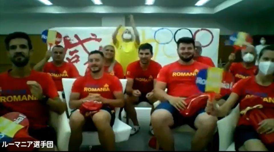 動画で紹介◆東京五輪ルーマニア陸上競技選手団とのオンライン交流