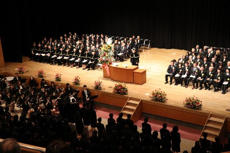 平成28年度学位記授与式・卒業証書学位記授与式が行われました