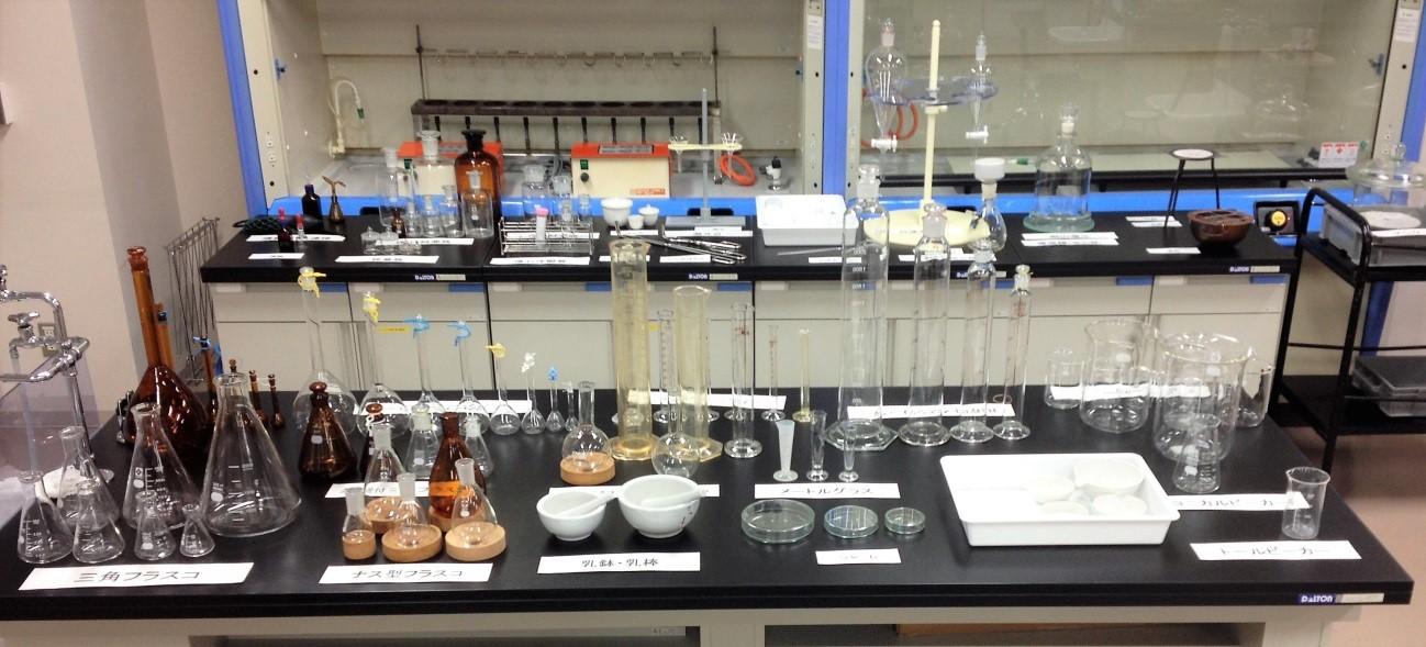聖徳大学のビーカーくんとそのなかまたち ~ちょっと真面目な実験器具の紹介~