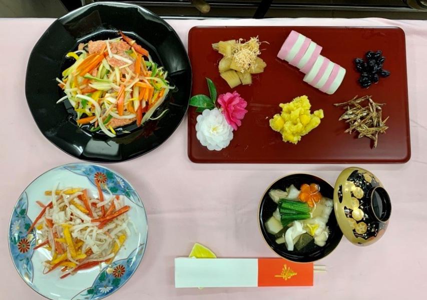 【授業】正月料理