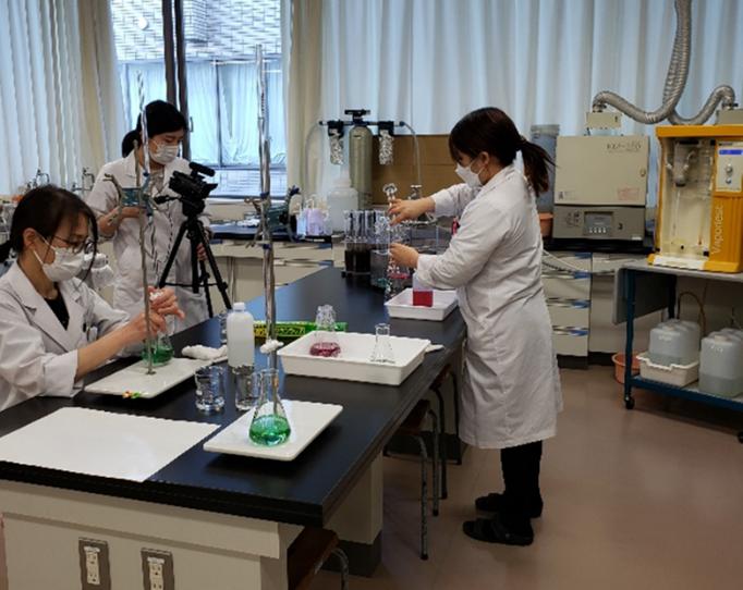【授業】食品科学実験Ⅰ★「日本食品標準成分表」の策定に用いられる分析法を学ぶ2