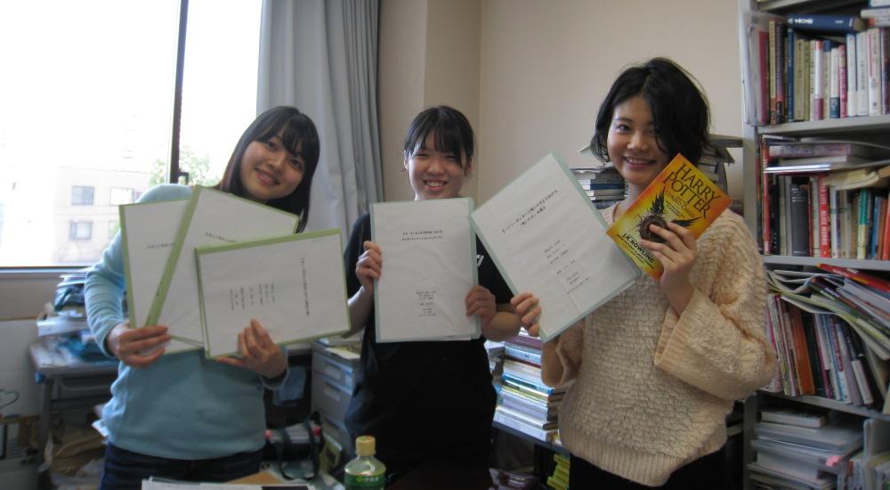 英語・英文学コース:卒業論文の完成、そして提出へ!