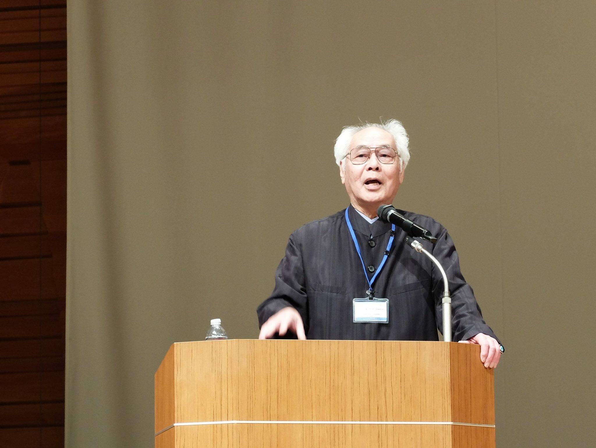 徳丸吉彦先生が第14回木村重信民族藝術学会賞受賞、また国際音楽学会で基調講演