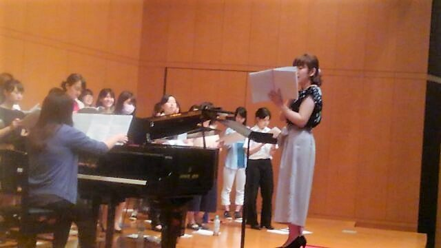 音楽指導コースの学生、指導実習に挑む!(合唱編)
