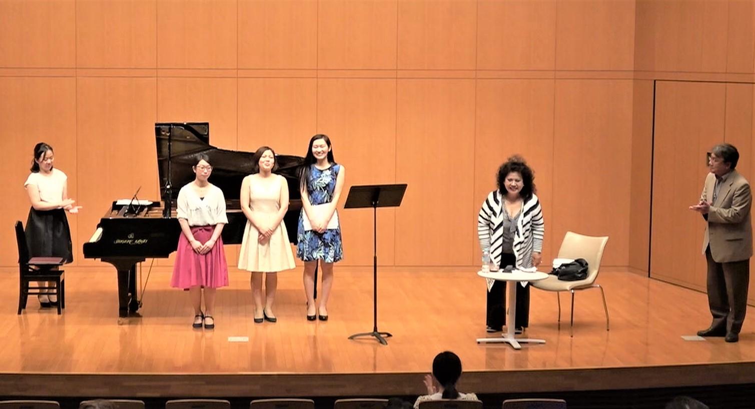 林康子客員教授の公開講座「イタリアの音楽と声」が行われました!