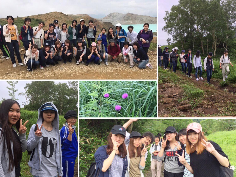 学外研修で1年生が志賀高原に滞在(1)~大自然を満喫~