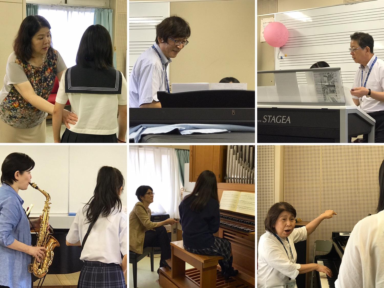 「受験準備音楽講習会」が開催されました♪