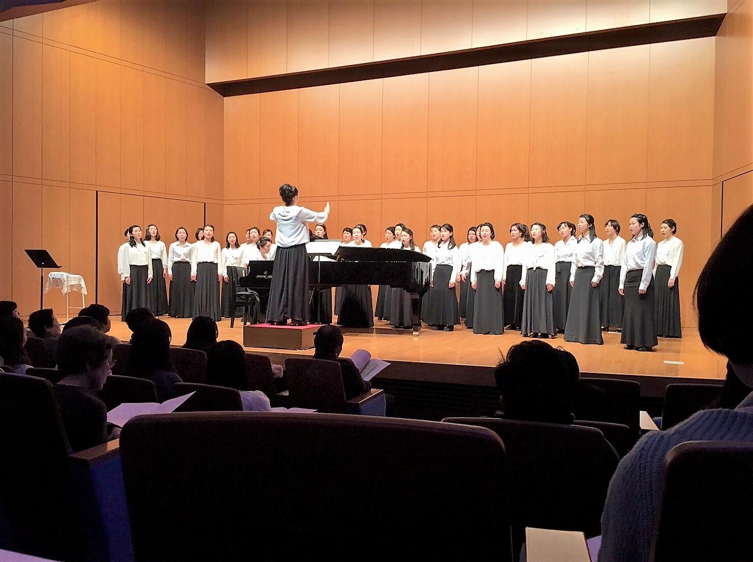 音楽教員養成コースの第10回定期演奏会が開催されました