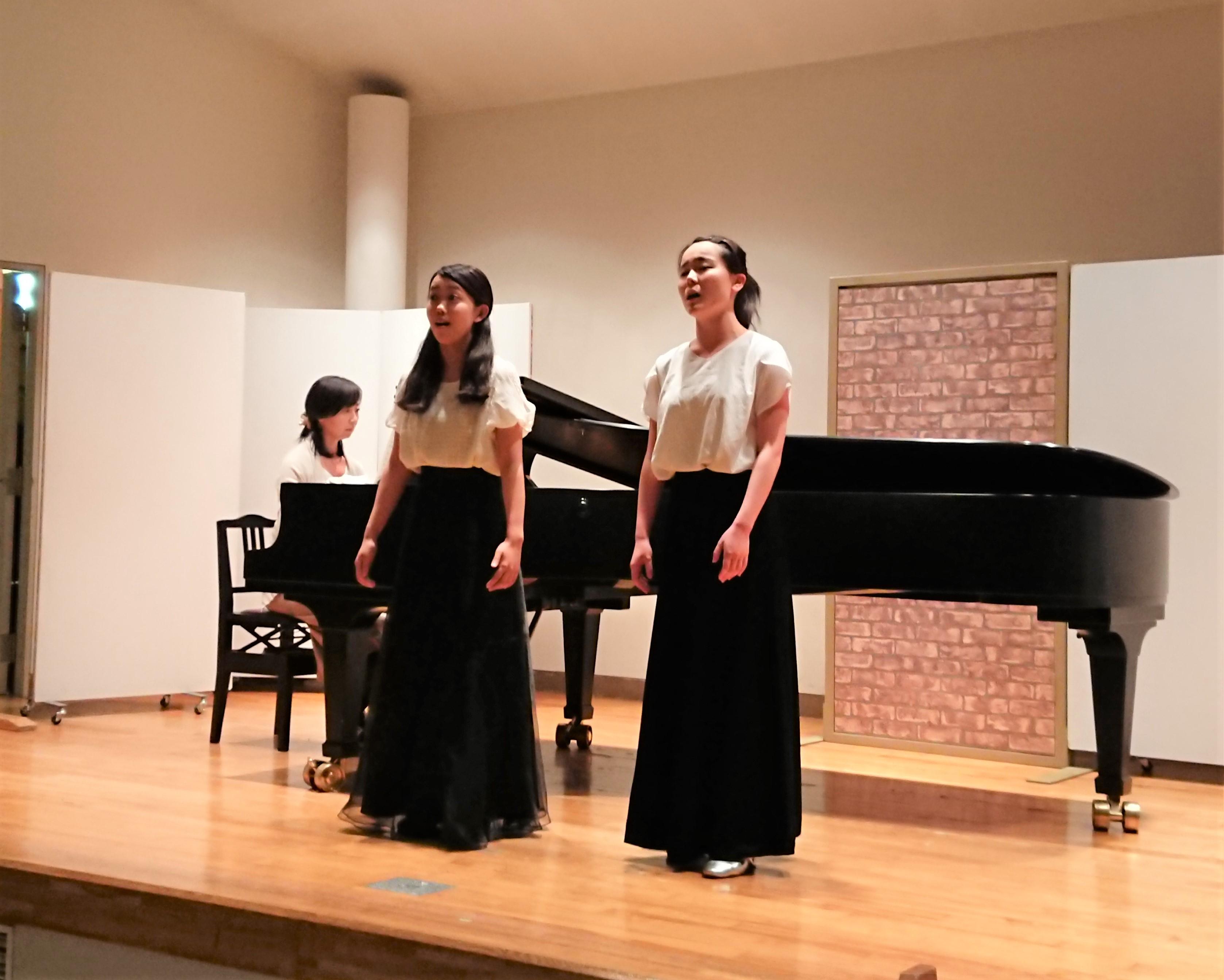 今年の聖徳オペラ《フィガロの結婚》の学生オーディションが行われました!