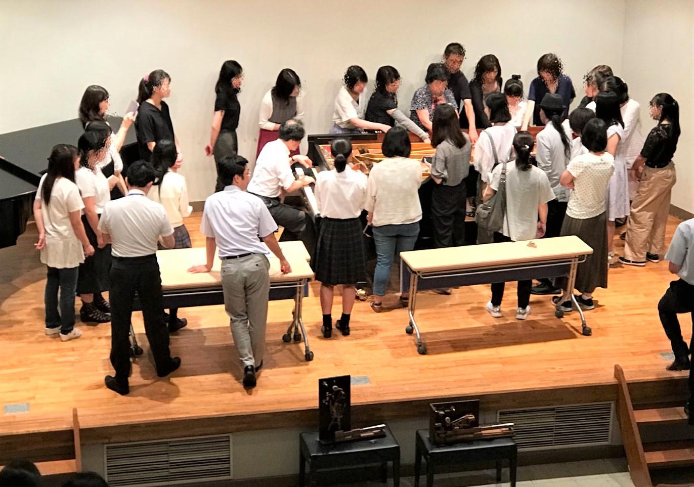 8月11日(土・祝)「音楽の日」のオープンキャンパス、ご来場ありがとうございました!