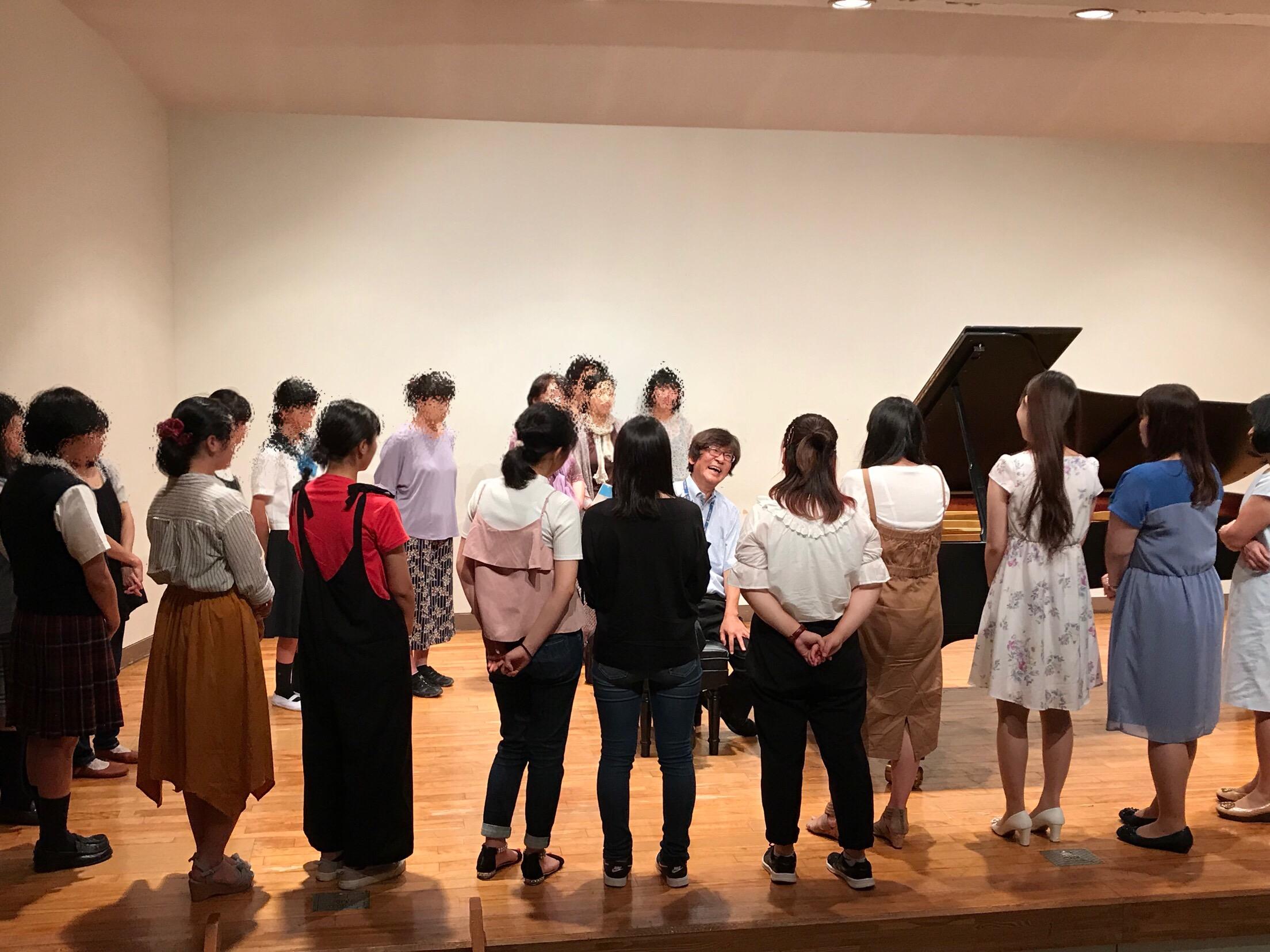 8月25日(土)「ピアノの日」のオープンキャンパス、ご来場ありがとうございました!