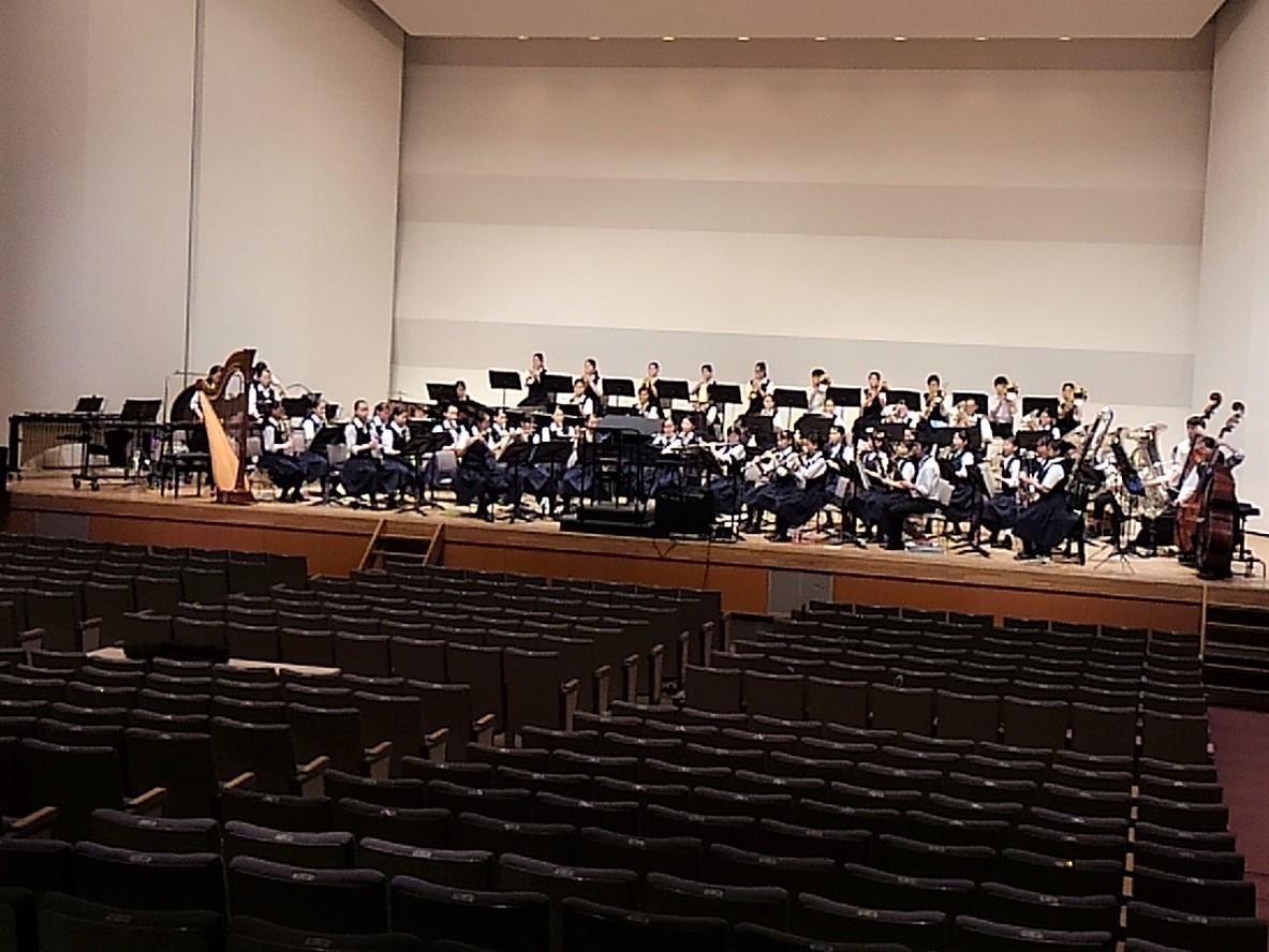 聖徳大学・聖徳大学音楽学部による新しい高大連携と地域貢献~吹奏楽ホール練習とクリニックを行いました~