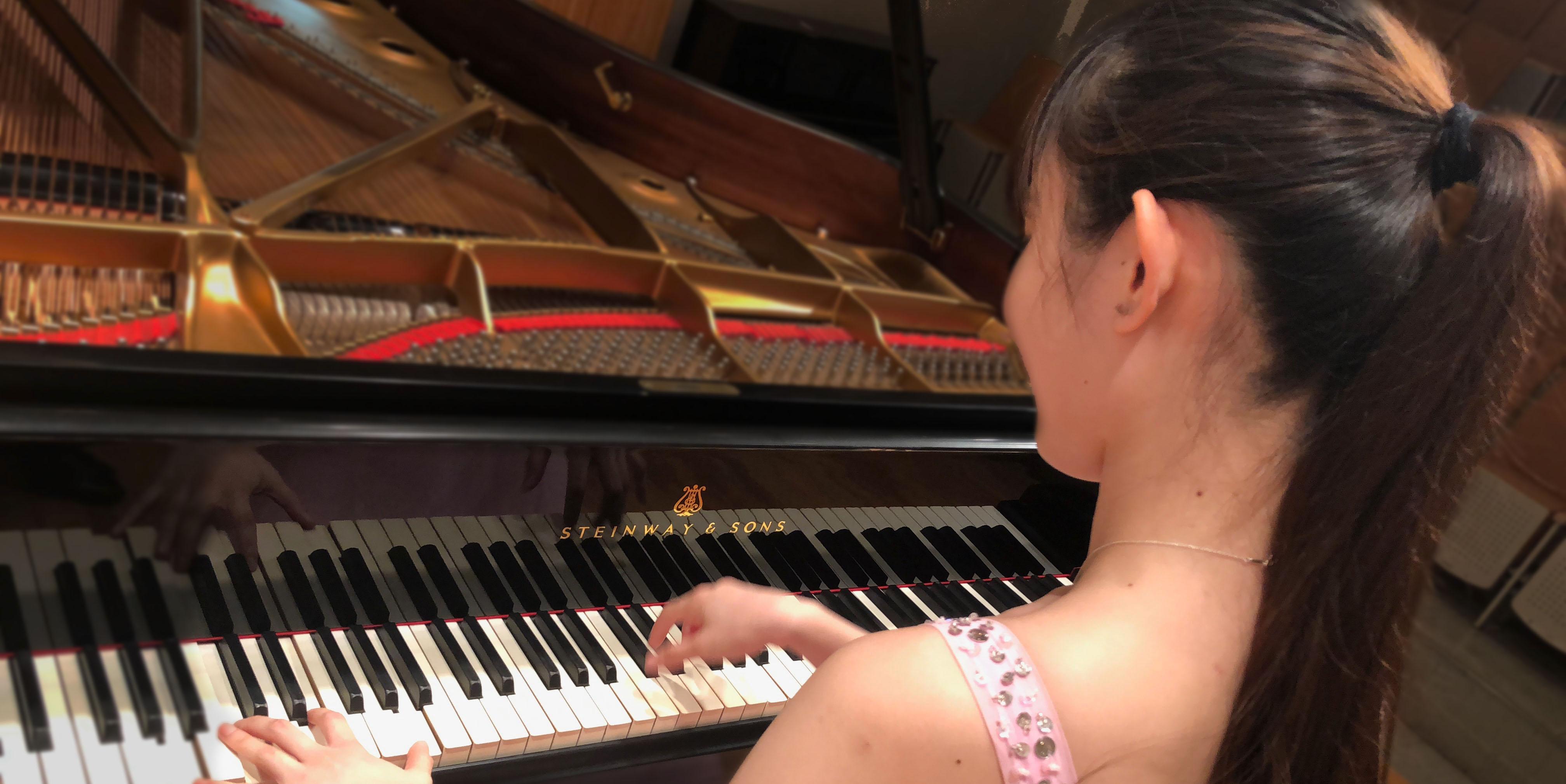 ピアノ学内発表演奏会~自らの成長を確かめ、新たに目標を定める~